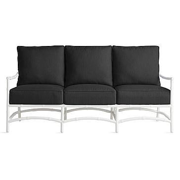 Savannah Outdoor Sofa - Black