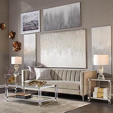 Crestmont Glam Living Room Inspiration