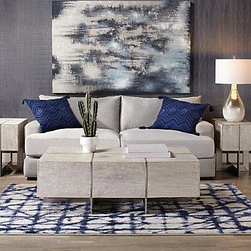 Stella Sapphire Living Room Inspiration