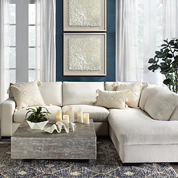 Del Mar Sectional Living Room Inspiration