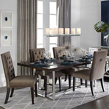 Rylan Extending Modern Dining Room Inspiration