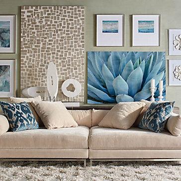 Ventura Gallery Wall Living Room  Inspiration