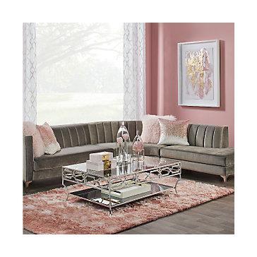 Blush Crestmont Living Room Inspiration