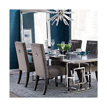 Cerulean Rylan Dining Room Inspiration