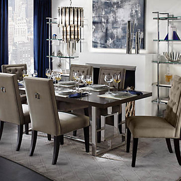 Rylan Sapphire Dining Room Inspiration