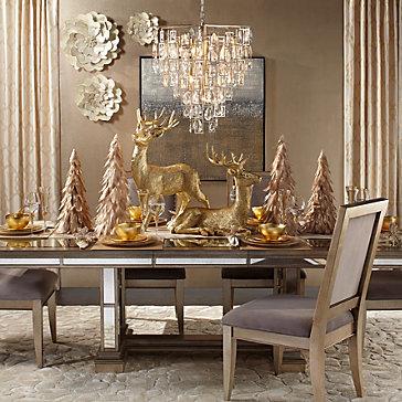 Ava Valentina Holiday Dining Room Inspiration