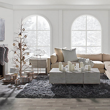 Ventura LED Prelit Tree Living Room Inspiration