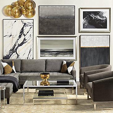 Modern Vapor Gallery Wall Inspiration