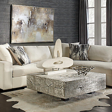 Del Mar Timber Relaxed Living Room  Inspiration