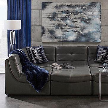 Convo Bleu Living Room Inspiration