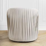 Aria Pleated Swivel Chair