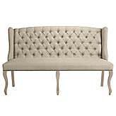 Archer Banquette - Wash Oak