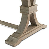 Archer Natural Grey Wood Bench
