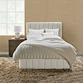 Hadley Bed With Channeled Footboard