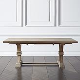 Archer Wash Oak Extending Dining Table